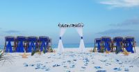 destin florida, barefoot weddings, vow renewal, package