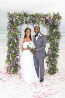 barefoot weddings, grapevine arbor, wedding package