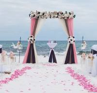 barefoot wedding, beach wedding package,