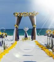 destin florida, beach wedding, affordable