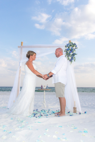 barefoot weddings, beach wedding, package, custom, destin