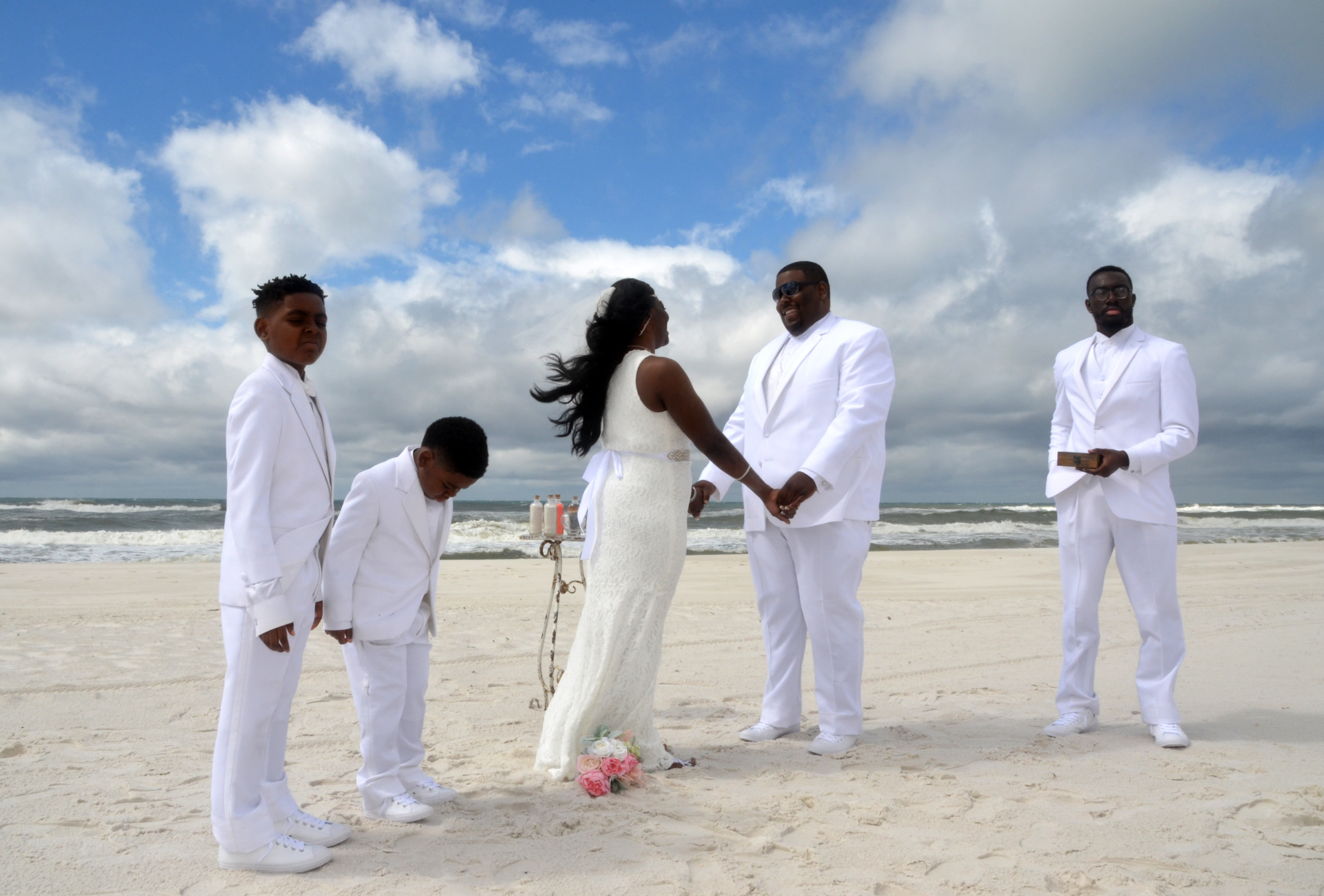 destin florida, barefoot weddings, beach wedding, vow renewal