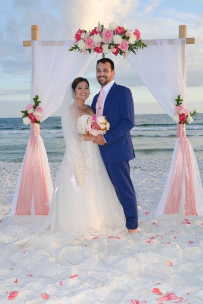 Simple Destin Florida Beach Wedding